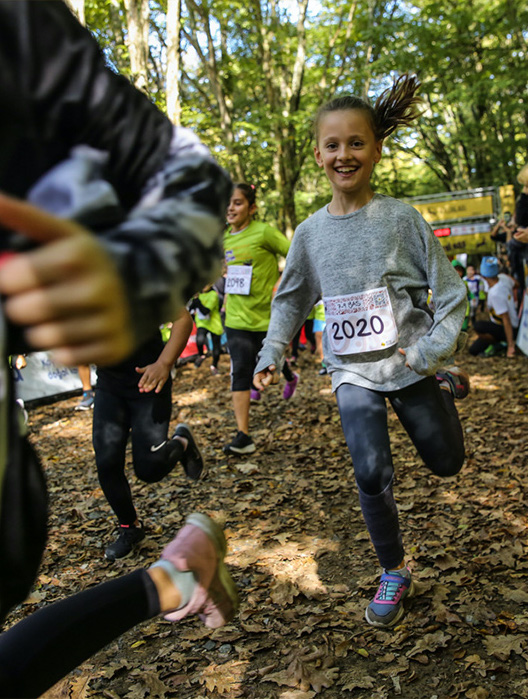 Trail event for children 4-12 ages